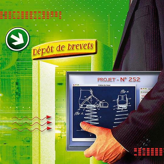 """""""Dépôt de brevets, un très bon cru pour le CNRS"""" - LE JOURNAL DU CNRS"""