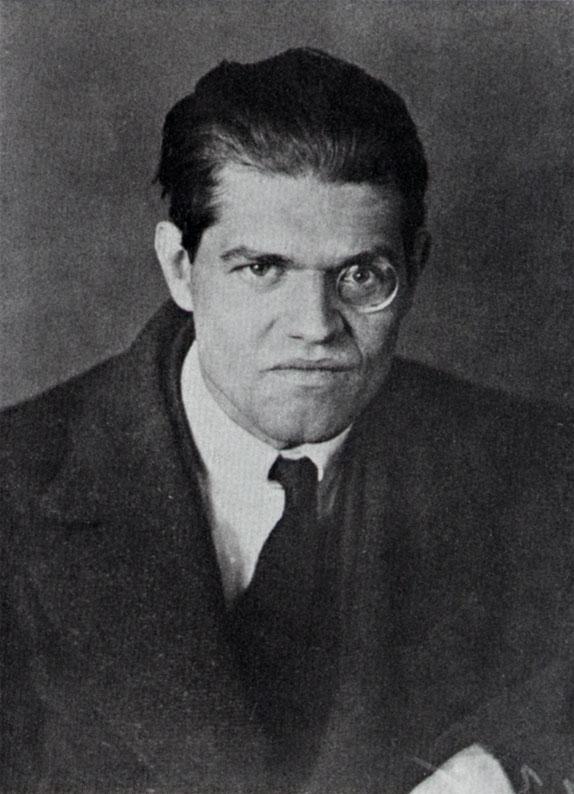 Raoul Hausmann, photo de Hannah Höch en 1919