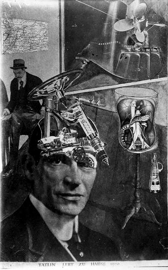 Tatline vit à la maison Exposé à la « Première Foire Internationale Dada » à Berlin